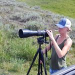 Photography practice in Yellowstone National Park.