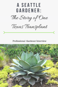 A Seattle Gardener: The Story of One Texas Transplant