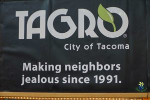 Tagro at the Tacoma Home and Garden Show