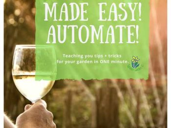 DIY Garden Minute Ep. 3: Watering Made Easy – Automate!