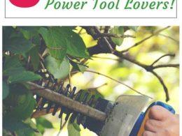 Garden Gift Ideas for Power Tool Lovers – DIY Garden Minute Ep. 40