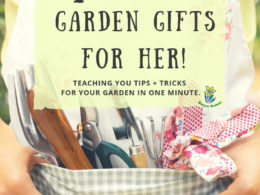 7 Holiday Garden Gifts For Her – DIY Garden Minute Ep. 32