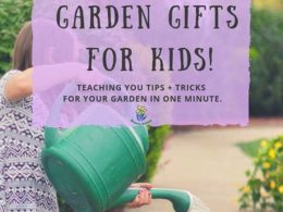 Holiday Garden Gifts For Kids – DIY Garden Minute Ep. 35