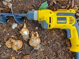 Stop Hand Digging in Your Garden (And Use This Bulb Auger Instead)