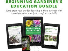 Master Your Garden Knowledge with This Beginning Gardener Education Bundle